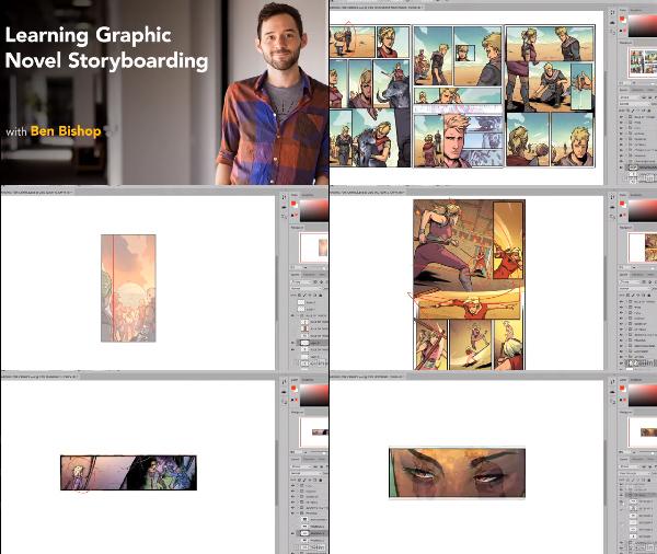 Learning Graphic Novel Storyboarding center