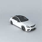 Mercedes-Benz C63 AMG Black Series 2012 logo