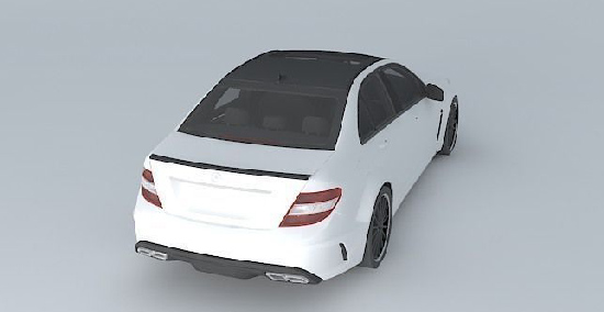 Mercedes-Benz C63 AMG Black Series 2012 center