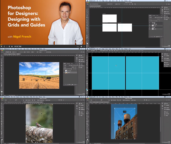 Photoshop for Designers: Designing with Grids and Guides center