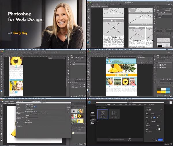 Photoshop for Web Design center