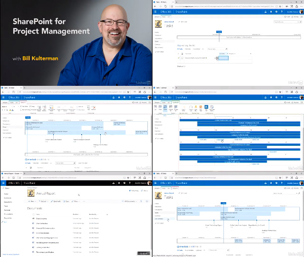 SharePoint for Project Management center