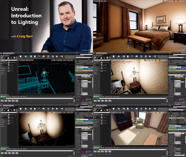 Unreal: Introduction to Lighting center