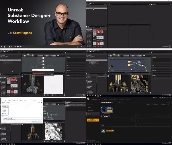 Unreal: Substance Designer Workflow center