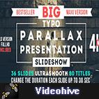 Videohive Big Typo Parallax Presentation logo