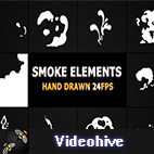 Videohive Cartoon Smoke Elements And Transitions logo