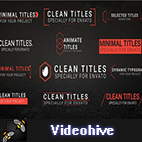 Videohive Clean Titles logo