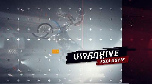 Videohive Dynamic Glitch Promo center