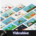 دانلود پروژه Videohive Explainer World Video Toolkit Library