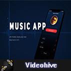 Videohive Music App Promo Presentation logo