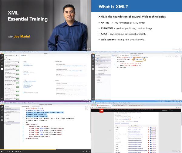 XML Essential Training center