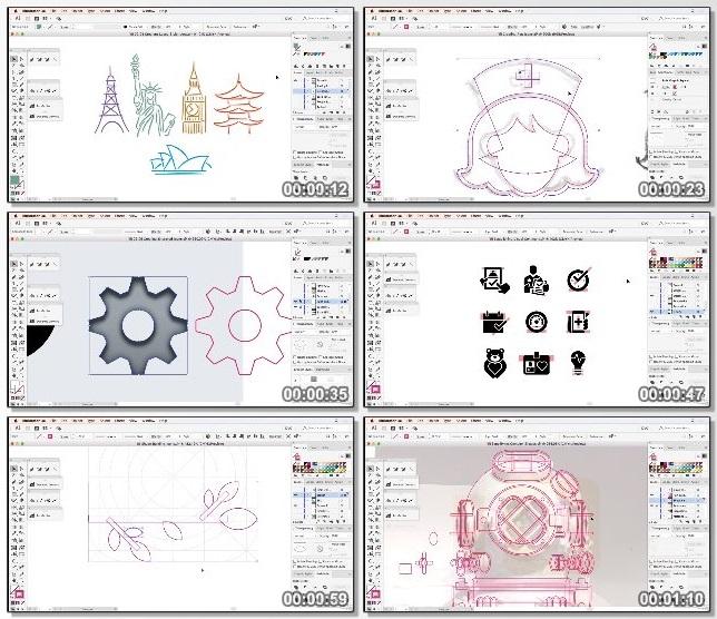 دانلود فیلم آموزشی Drawing Vector Graphics: Iconography از Lynda
