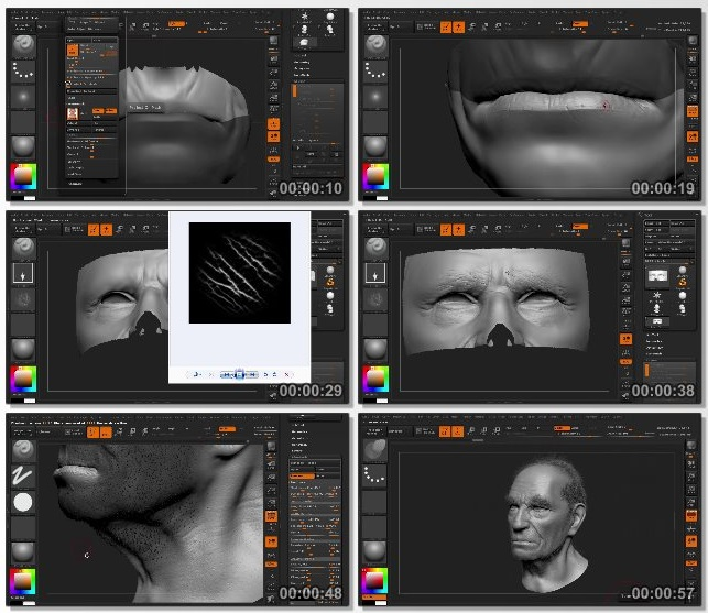 دانلود فیلم آموزشی Bust Sculpting in ZBrush Volume 3 از 3dmotive