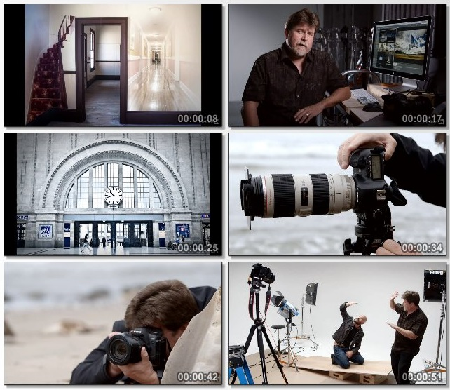 دانلود فیلم آموزشی Photographing for Compositing in Photoshop
