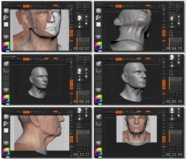 دانلود فیلم آموزشی Bust Sculpting in ZBrush Volume 1 از 3dmotive