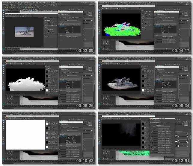 دانلود فیلم آموزشی Maya 2018 VFX - Learn to create Visual effects using Maya