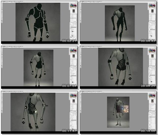 دانلود فیلم آموزشی Painting Machines: Concept Art Vehicles, Robots & Weapons