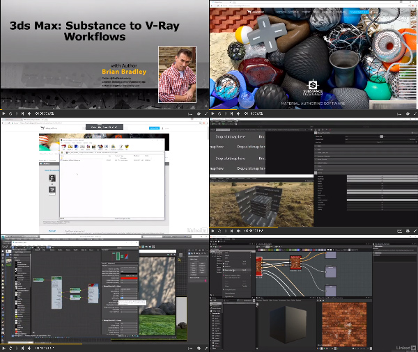 3ds Max: Substance to V-Ray center