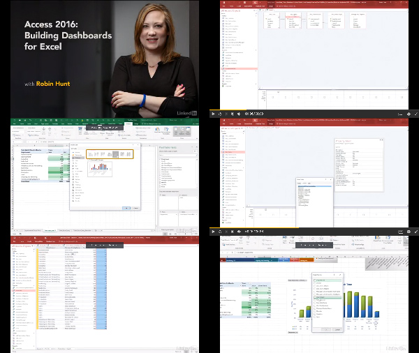 Access 2016: Building Dashboards for Excel center