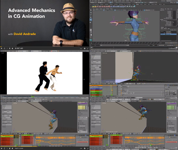 Advanced Mechanics in CG Animation center