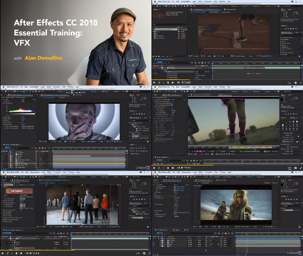 After Effects CC 2018: VFX Essential Training center