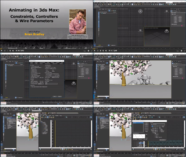 Animating in 3ds Max: Constraints, Controllers, and Wire Parameters center