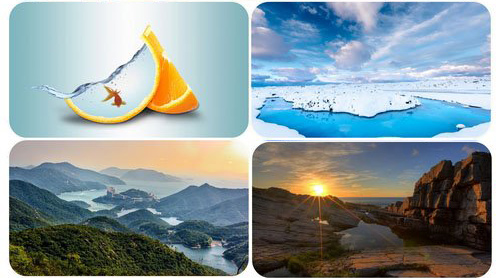 Beautiful Mixed Wallpapers Pack 4 center