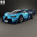 Bugatti Vision Gran Turismo 2015 logo
