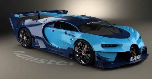 Bugatti Vision Gran Turismo 2015 center