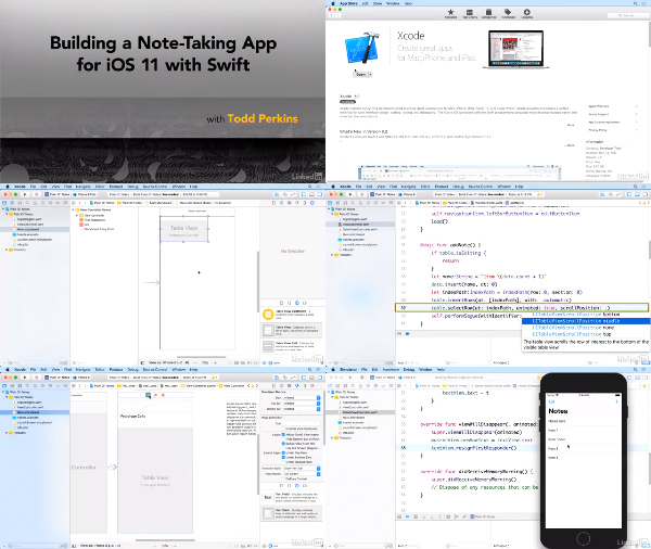 Building a Note-Taking App for iOS 11 with Swift center