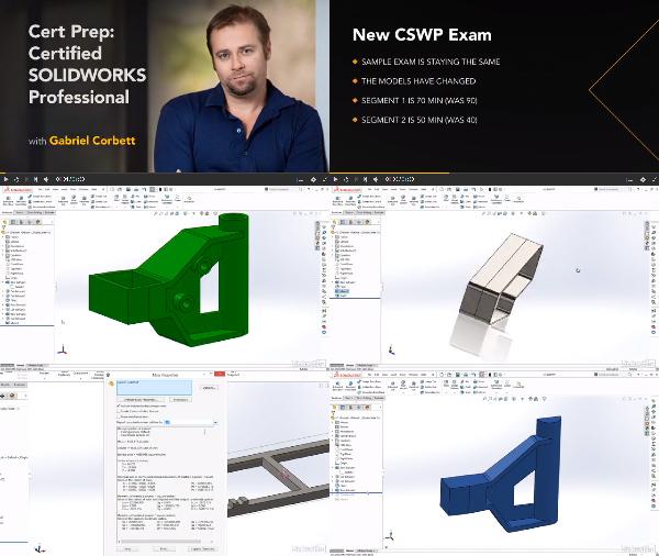Cert Prep: Certified SOLIDWORKS Professional center