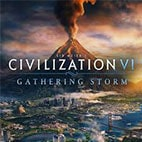 لوگوی بازی Sid Meiers Civilization VI Gathering Storm