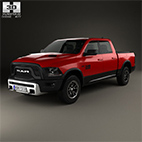 Dodge Ram 1500 Rebel 2015 logo