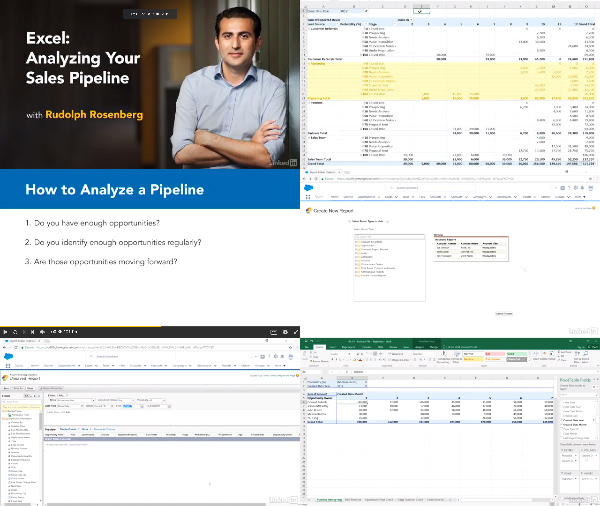Excel: Analyzing Your Sales Pipeline center