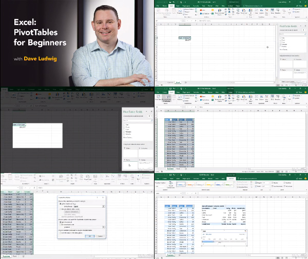 Excel: PivotTables for Beginners center