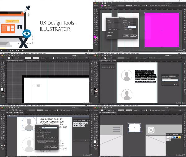 Illustrator for UX Design center