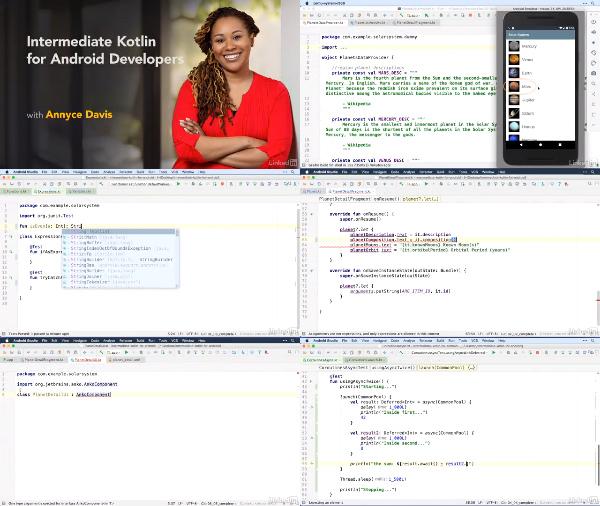Intermediate Kotlin for Android Developers center