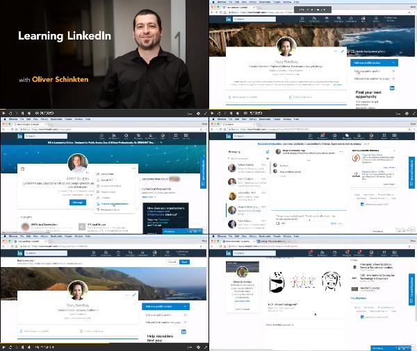 Learning LinkedIn center