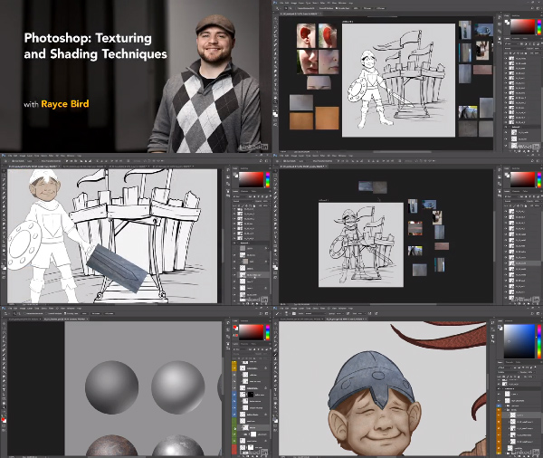 Photoshop: Texturing and Shading Techniques center