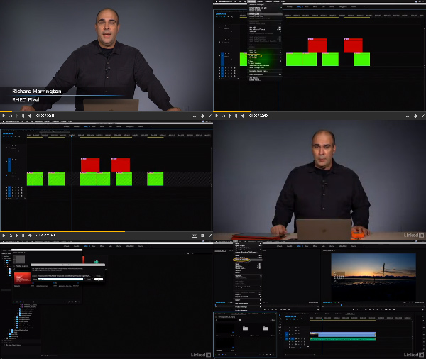 Premiere Pro CC 2018 New Features center