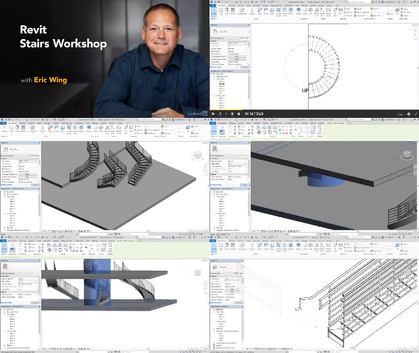 Revit Stairs Workshop center