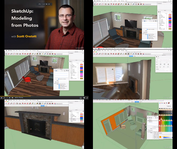 SketchUp: Modeling from Photos center