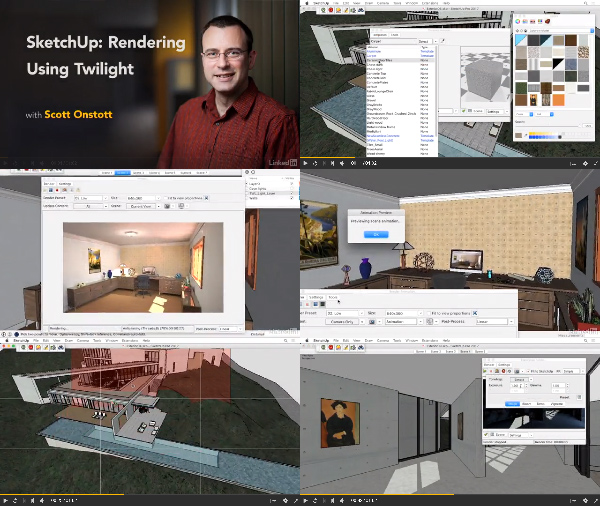 SketchUp: Rendering Using Twilight center
