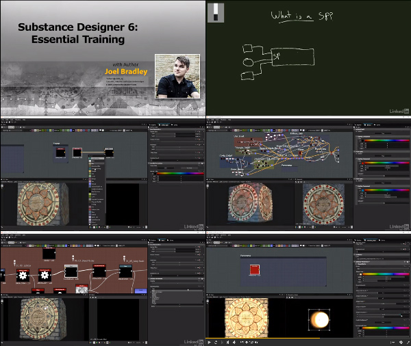 Substance Designer Essential Training center