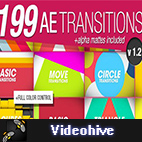 Videohive 199 Transitions Pack logo