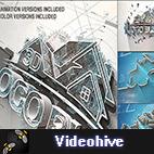 Videohive 3D Logo Build logo