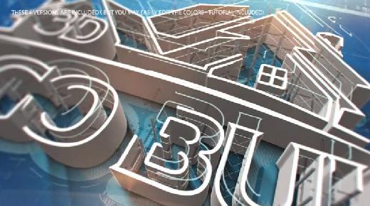 Videohive 3D Logo Build center
