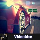 Videohive Car Racing Reveal logo