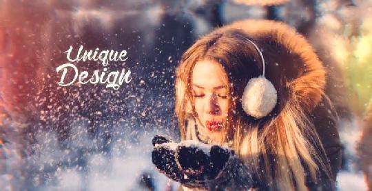 Videohive Christmas Slideshow center