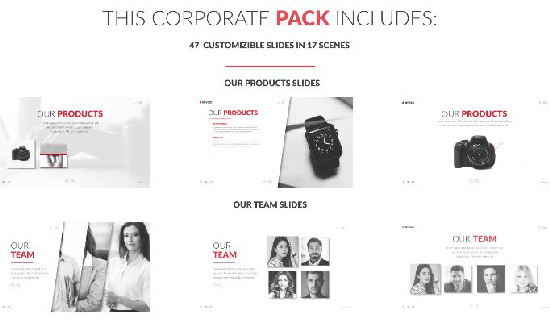 Videohive Corporate Promo Pack center